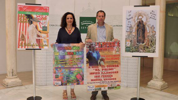 La Puebla de los Infantes celebra su Feria y Fiestas Patronales en honor a Nuestra Señora de las Huertas Coronada