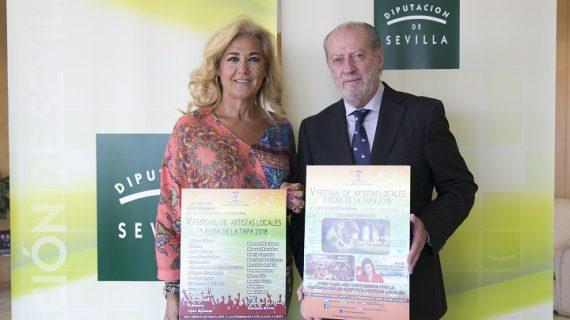 Castilleja de la Cuesta celebra la V Festival de Artistas Locales coincidiendo con su Feria de la Tapa 2018