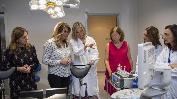 Inaugurada la Unidad de Reproducción Asistida Avanzada del Hospital de Valme