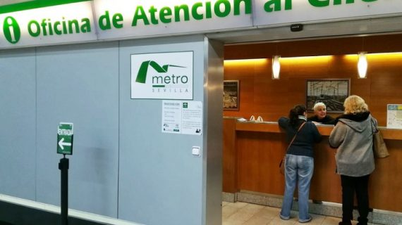 Metro Sevilla celebra su décimo aniversario con descuentos para los usuarios