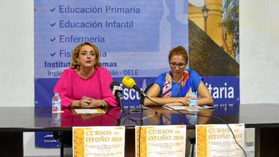 Osuna presenta los Cursos de Otoño 2018 que se celebrarán en octubre