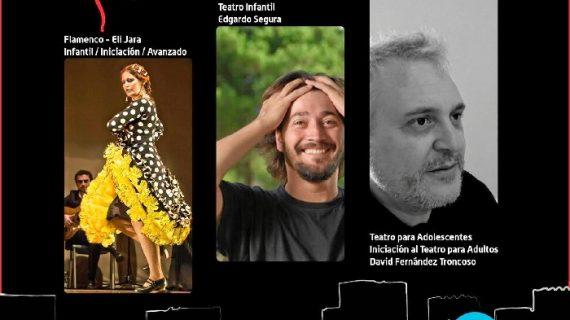 La nueva Escuela de Artes Escénicas de Alcalá de Guadaíra ofrece clases de teatro y flamenco
