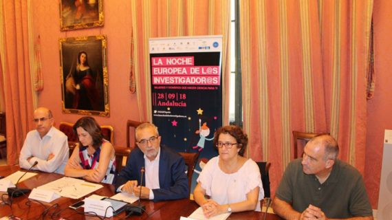 Alrededor de 80 de actividades llenan Sevilla de ciencia durante La Noche Europea de l@s Investigador@s