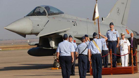 El Rey Felipe VI visita la Base Aérea de Morón