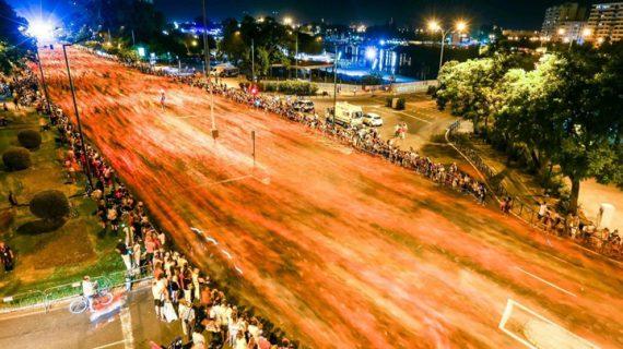 Éxito de la Nocturna del Guadalquivir con más de 20.000 corredores