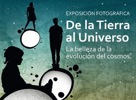 El astrofísico David Galadí inaugura en Tomares la exposición 'De la Tierra al Universo. La belleza de la evolución del Cosmos'