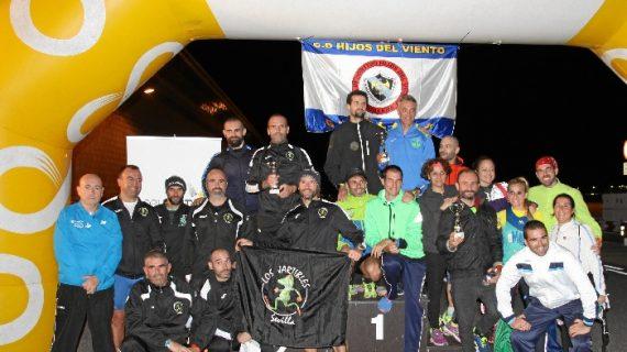 El Aeropuerto de Sevilla recauda fondos para 'La Azotea Azul' en su III Carrera Nocturna Solidaria