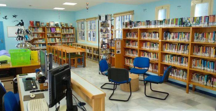 Santiponce elimina las barreras arquitectónicas en la biblioteca municipal