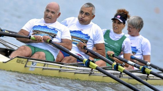 Clausurada la II Sevilla International Rowing Masters Regatta con récord de participación