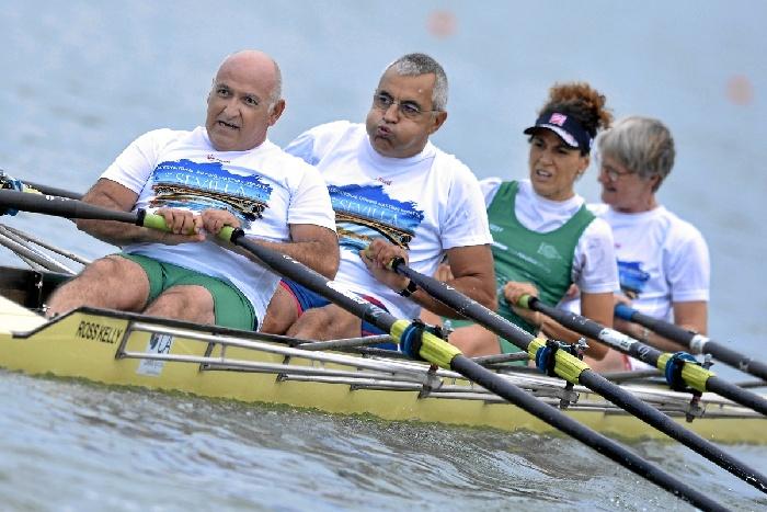 Clausurada la II Sevilla International Rowing Masters Regatta con récord de participación