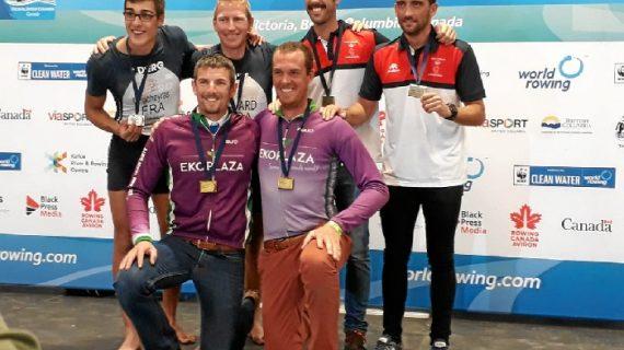 Sevilla se trae el bronce del Campeonato del Mundo de remo de mar de Sidney