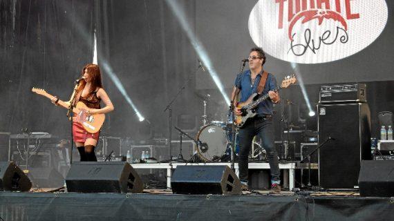 Éxito de la octava edición del festival 'Tomate Blues' en Los Palacios y Villafranca