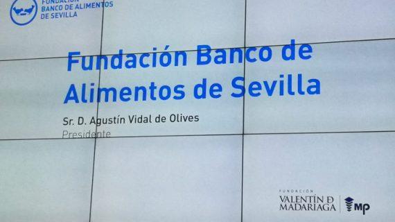 El Corte Inglés, Inés Rosales y Fundación Persán, reconocidos con los Premios Banco de Alimento de Sevilla 2018