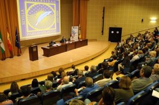 La UPO inaugura el curso para mayores de 50 años 'Aula Abierta' con casi mil estudiantes