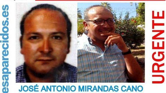 Lebrija se vuelca en la búsqueda de José Antonio Mirandas