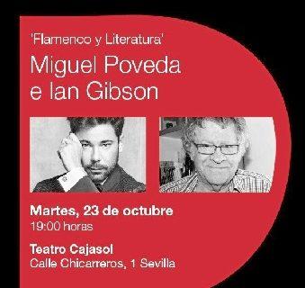Miguel Poveda e Ian Gibson participan en el ciclo 'Diálogos con el flamenco'