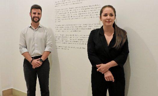 Virginia Bersabé presenta su exposición 'Morada al Sur' sobre la mujer y el Alzheimer en la Casa de la Provincia