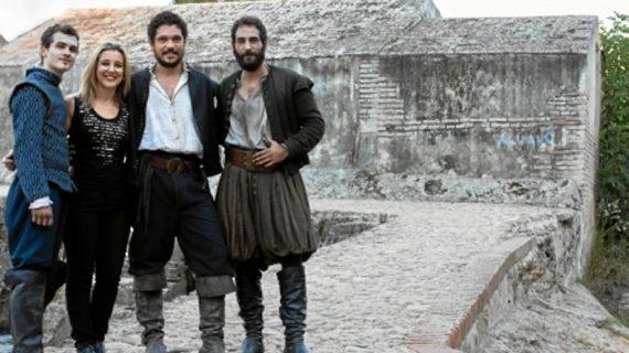 Comienza el rodaje de 'La Peste' en los molinos de la Aceña de Alcalá de Guadaíra