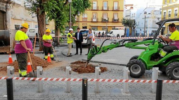 Comienzan en el Pumarejo los trabajos para la plantación de 5.000 árboles por toda la capital