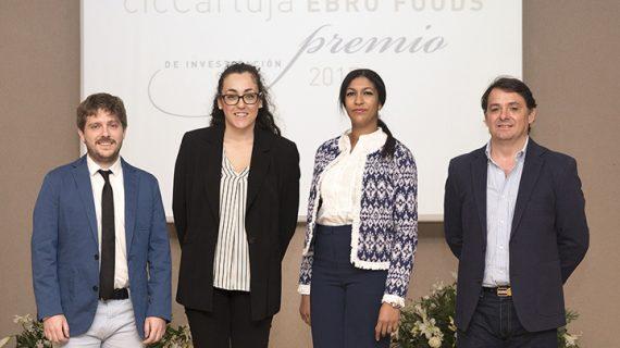 Cuatro investigadores se alzan con los Premios cicCartuja – Ebro Foods
