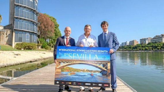 La II Regata Internacional de Remo para Veteranos de Sevilla recibirá a más de 900 remeros de todo el mundo