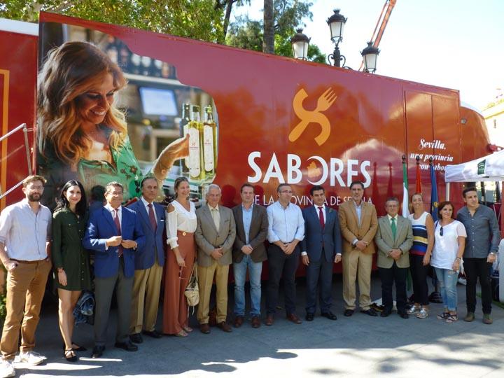 Los 'Sabores de la Provincia de Sevilla' se van de gira por Andalucía, Extremadura y Portugal