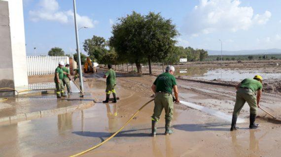 Obras de emergencia devolverán la normalidad a los dos puentes afectados por el temporal en la provincia