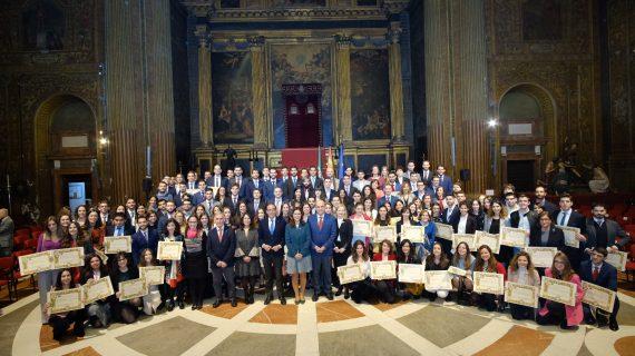 La Universidad de Sevilla reconoce la dedicación de sus estudiantes en los Premios Extraordinarios Fin de Estudios