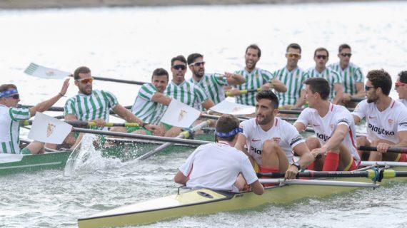 Dominio de los verdiblancos en la 52 Regata Sevilla – Betis de remo