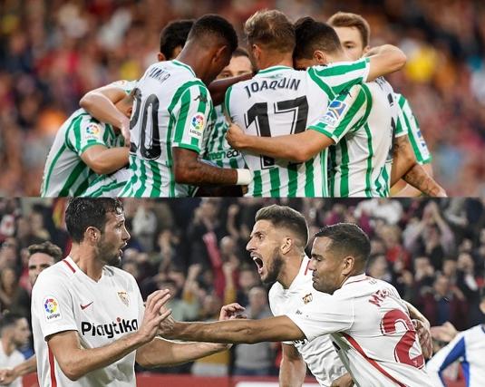 La hora feliz compartida por el Betis y el Sevilla