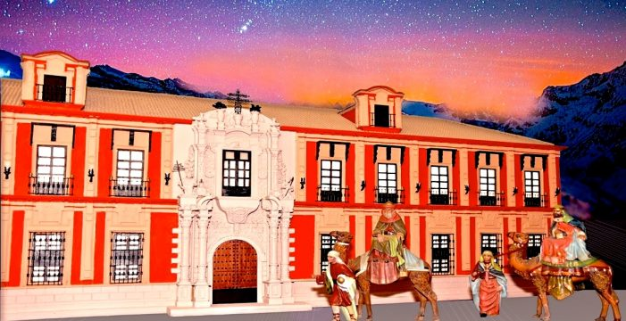 El Belén de la Solidaridad 2018 realizado por personas trasplantadas recrea el Palacio Arzobispal