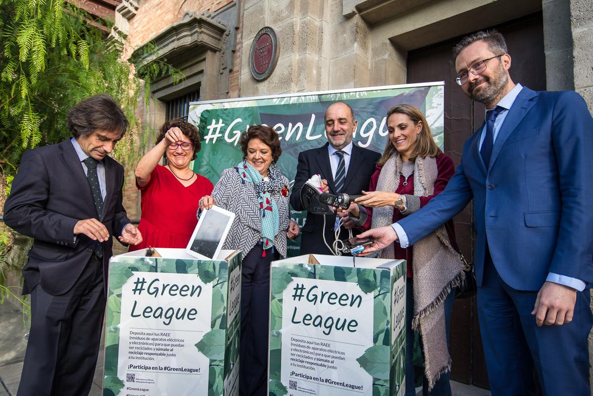 Sevilla se suma a la iniciativa #GreenLeague de recogida de aparatos eléctricos en centros de trabajo
