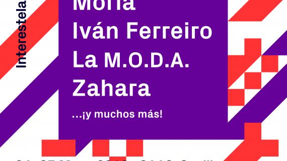 Iván Ferreiro, Zahara y la M.O.D.A compartirán su música en el festival sevillano Interestelar 2019