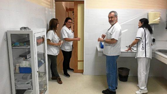 Mejoras en cuatro centros de salud de Lebrija, Alcalá de Guadaira y Paradas