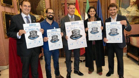La Hermandad de la Paz celebra una gala benéfica para la Azotea Azul en el Casino de la Exposición
