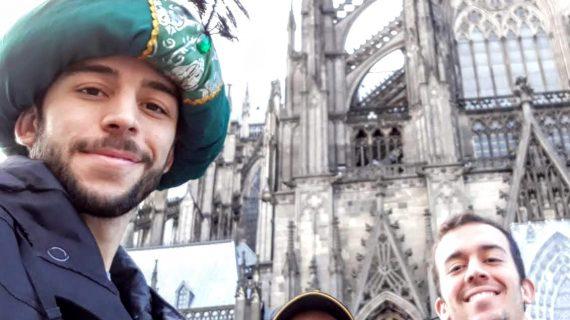 El sevillano Álvaro Narbona realiza su doctorado en biología del envejecimiento en Colonia