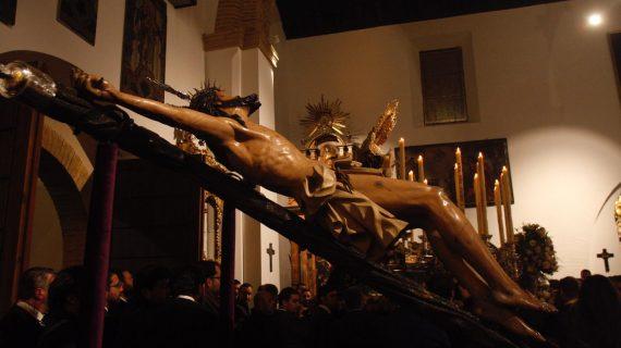 La Exaltación ya está en su casa, ya ha vuelto a Santa Catalina