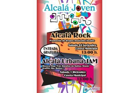 El Festival Alcalá Rock pone música a la localidad alcalareña este fin de semana con grupos locales