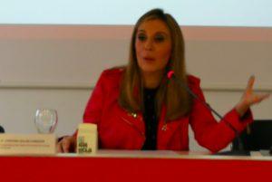 En la imagen, Cristina Galán Cabezón, coordinadora provincial del Instituto Andaluz de la Mujer (IAM).