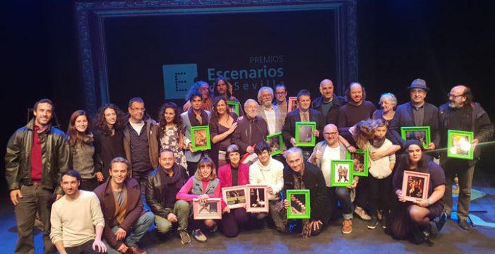 Escenarios de Sevilla entrega los premios de la temporada 2017-2018