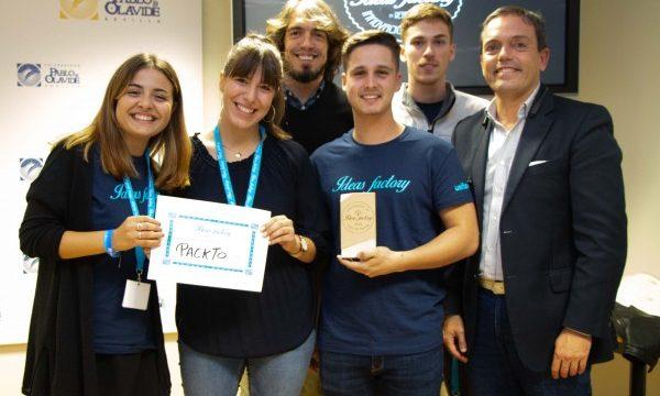 El proyecto de economía colaborativa para el envío de paquetes, Packto, gana el concurso Ideas Factory