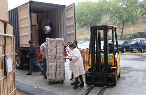 El Hospital San Juan de Dios envía un segundo contenedor de ayuda humanitaria a Sierra Leona