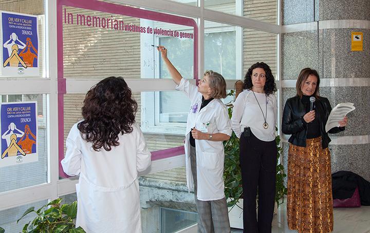 El Virgen del Rocío crea un protocolo específico de actuación de profesionales frente a la violencia de género