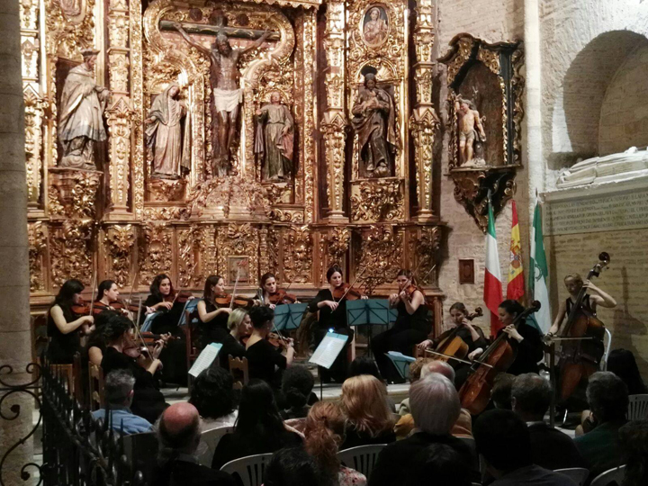 La Orquesta de Cámara de Mujeres Almaclara·Inés Rosales / Foto: Almaclara