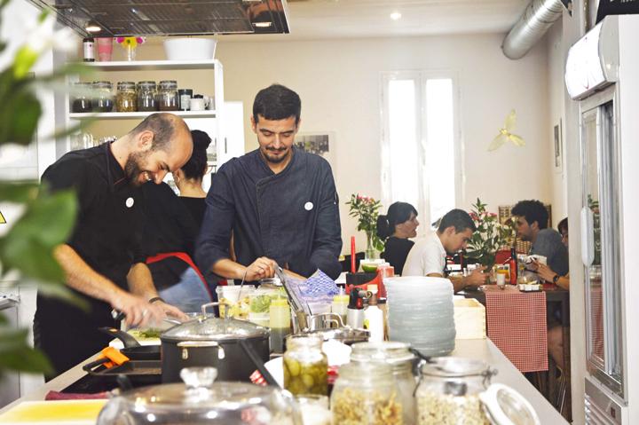 Óscar P. Crespo, en KÖk Tu Cocina. / Foto: KÖk Tu Cocina.