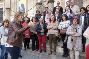 Más de 270 personas participan en las 'Rutas con nombre de mujer'.