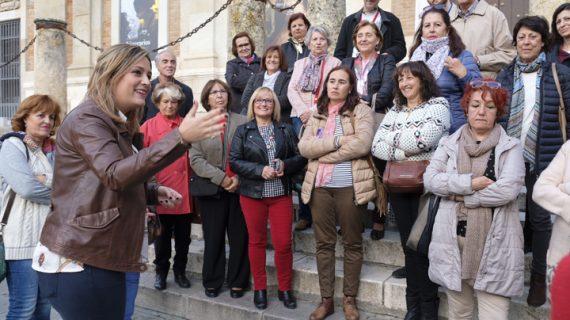Gran acogida de las 'Rutas con nombre de mujer' del Otoño Feminista
