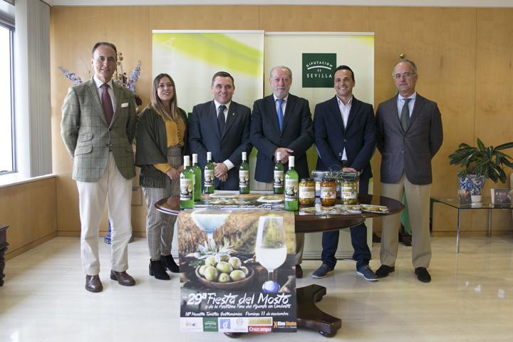 Presentado el cartel de la 29 edición de la fiesta agroalimentaria de Umbrete.