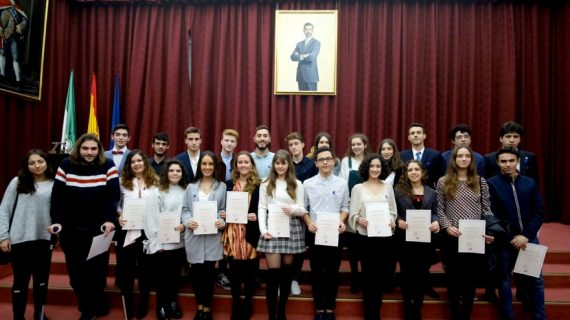 La Universidad de Sevilla reconoce a los 25 estudiantes con mejor nota de corte de este curso