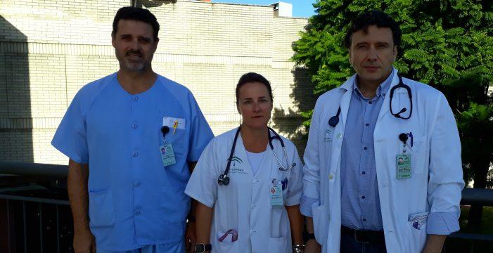 Tres médicos de Valme defienden el uso de la ecografía en Urgencias